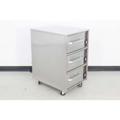 "Hatco HDW-3 29"" Mobile 3 Warming Drawers"