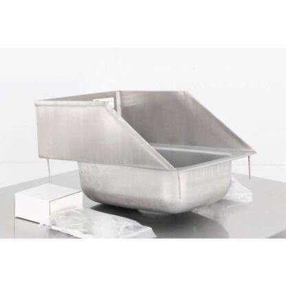 "John Boos PB-DISINK101405-SSLR 12"" x 18"" Stainless Steel Hand Sink w/Faucet"
