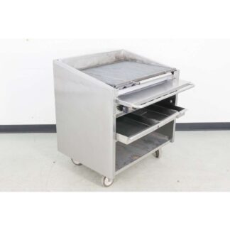 "Magikitch'n FM-636 36"" Floor Natural Gas Charbroiler"