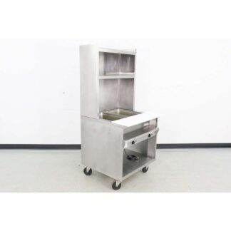"Randell 3612 33"" Electric 2 Well Food Warmer w/Overshelf"