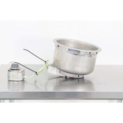 Wells SS10D 11 Qt. Electric Round Drop-In Soup Warmer