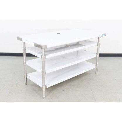 "BK Resources FCT60-MPF 60"" Stainless Steel Work Table w/3 Undershelves"