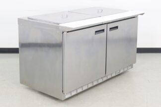 Delfield 4460N-24M-A5 2 Door Refrigerated Sandwich Prep Table