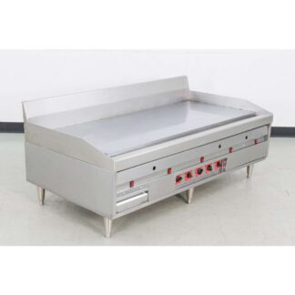 """Magikitch'n MKG60 60"""" Thermostatic Natural Gas Griddle"""