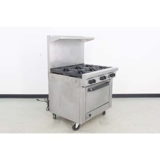 "Southbend 36"" 6 Burner Natural Gas Range w/Convection Oven"