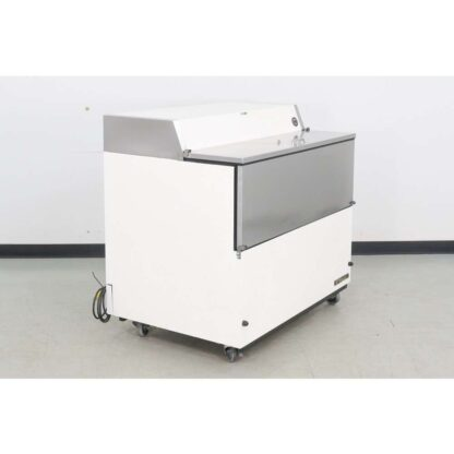 "True Manufacturing TMC-49 49"" Stainless Steel Flip Top Milk Cooler"