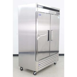"Turbo Air TSF-49SD-N 54"" 2 Solid Door Bottom Mounted Reach-In Freezer"