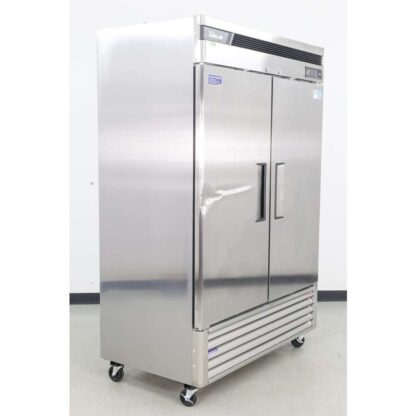 """Turbo Air TSF-49SD-N 54"""" 2 Solid Door Bottom Mounted Reach-In Freezer"""