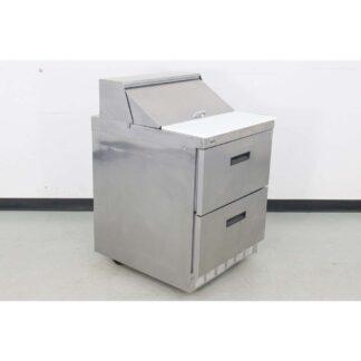 "Delfield D4427-8-JM2 27"" 2 Drawer Refrigerated Sandwich Prep Table"