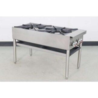 Jade Range JSP-182 2 Burner Gas Stock Pot Range