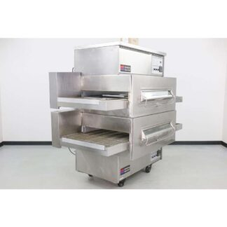 Middleby Marshall PS360Q 32 Double Deck Gas Conveyor Pizza Oven Refurbished