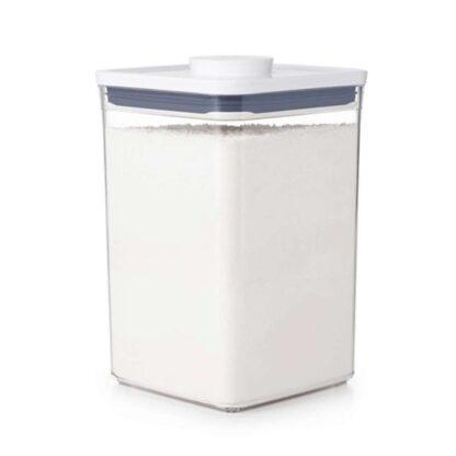 OXO 11233500 Good Grips 4.4 qt. POP Big Square Medium Food Storage Container