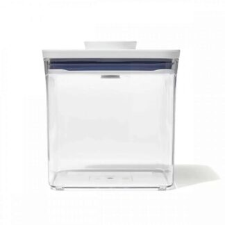 OXO 11233600 Good Grips 2.8 qt. POP Big Square Short Food Storage Container