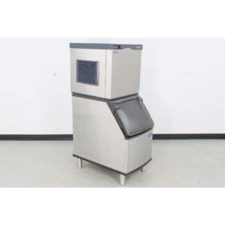 Scotsman CO322MA-1B 356 lb. Air Cooled Medium Cube Ice Maker w/D320 264 lb. Ice Bin