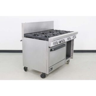 "Southbend S48DC S-Series 48"" 8 Burner Gas Range w/Standard Oven & Open Base"