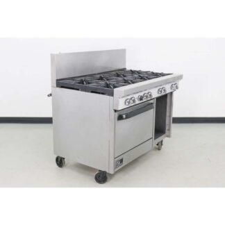 "Southbend S48DC S-Series 48"" 8 Burner Gas Range w/Standard Oven & Open Base"