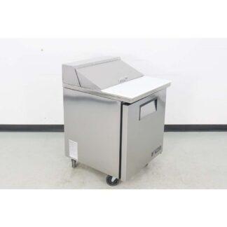 """True Manufacturing TSSU-27-8 27"""" 1-Door Refrigerated Sandwich Prep Table"""