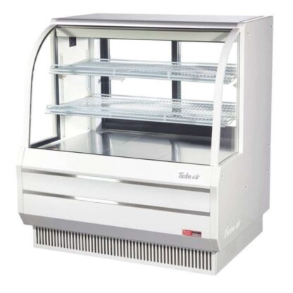 """Turbo Air TCGB-48-DR 48"""" Curved Glass Dry Bakery Case"""