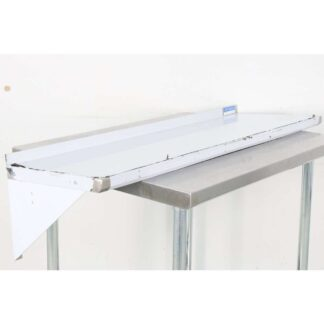 BK Resources BKWS-1648 16'' x 48'' Stainless Steel Wall Shelf