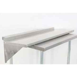 BK Resources BKWS-1648 16'' x 48'' Stainless Steel Wall Shelf pre-652799