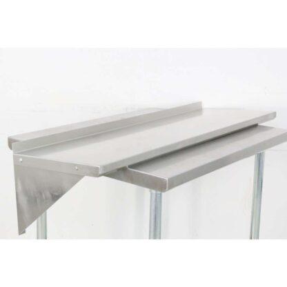 BK Resources BKWS-1648 16'' x 48'' Stainless Steel Wall Shelf pre-652799