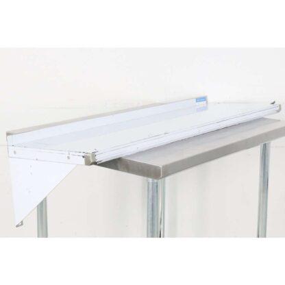 "BK Resources BKWS-1648 16'' x 48"" Stainless Steel Wall Shelf pre-652804"