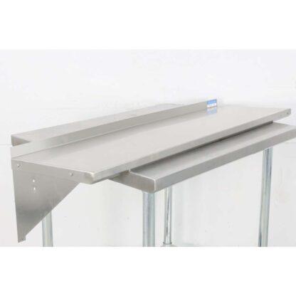 BK Resources BKWS-1648 16'' x 48'' Stainless Steel Wall Shelf pre-653507
