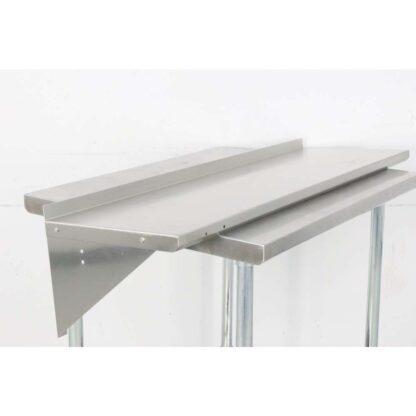 BK Resources BKWS-1648 16'' x 48'' Stainless Steel Wall Shelf pre-653509