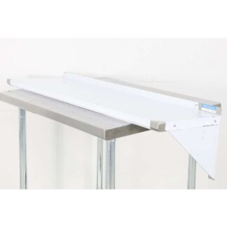BK Resources BKWS-1648 16'' x 48'' Stainless Steel Wall Shelf pre-653511