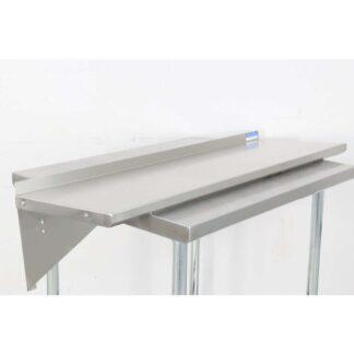 "BK Resources BKWS-1648 16'' x 48"" Stainless Steel Wall Shelf pre-653514"