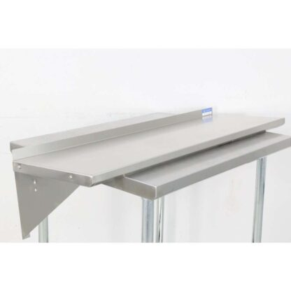 "BK Resources BKWS-1648 16'' x 48"" Stainless Steel Wall Shelf pre-653514"