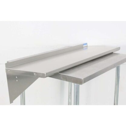 BK Resources BKWS-1648 16'' x 48'' Stainless Steel Wall Shelf pre-653517
