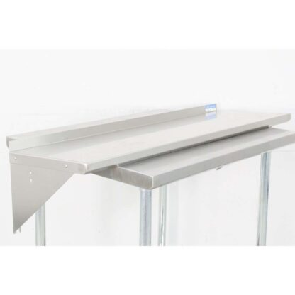 BK Resources BKWS-1648 16'' x 48'' Stainless Steel Wall Shelf pre-653518