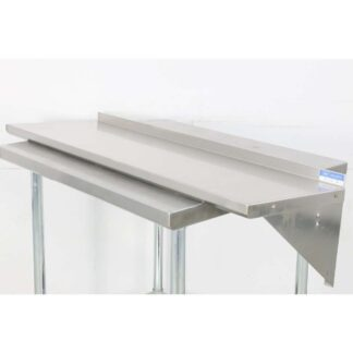 BK Resources BKWS-1648 16'' x 48'' Stainless Steel Wall Shelf pre-659759