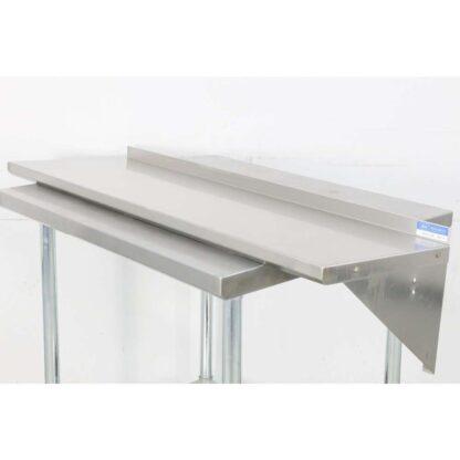 BK Resources BKWS-1648 16'' x 48'' Stainless Steel Wall Shelf pre-659759