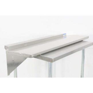 BK Resources BKWS-1648 16'' x 48'' Stainless Steel Wall Shelf pre-659760