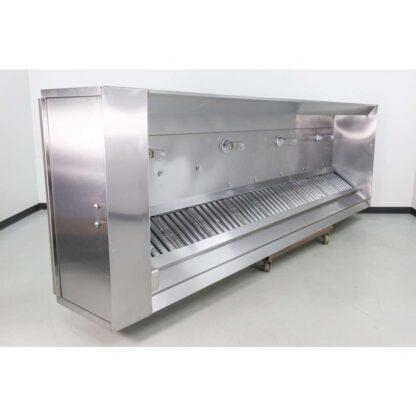 """Captive-Aire 174"""" Type I Stainless Steel Exhaust Hood"""