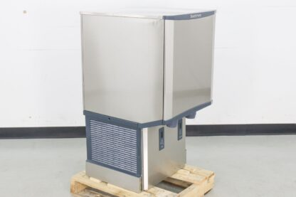 Scotsman HID540AW-1 500 lb. Air Cooled Nugget Style Countertop Ice Maker & Dispenser w/ 40 lb. Bin