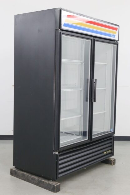 True Manufacturing GDM-49F-LD 2 Door Merchandiser Freezer