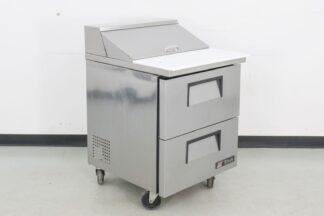 True Manufacturing TSSU-27-08D-2 Refrigerated Sandwich Prep Table
